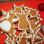 decorated german gingerbread cookies