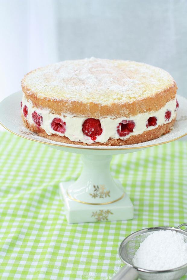 Framboisier cake recipe