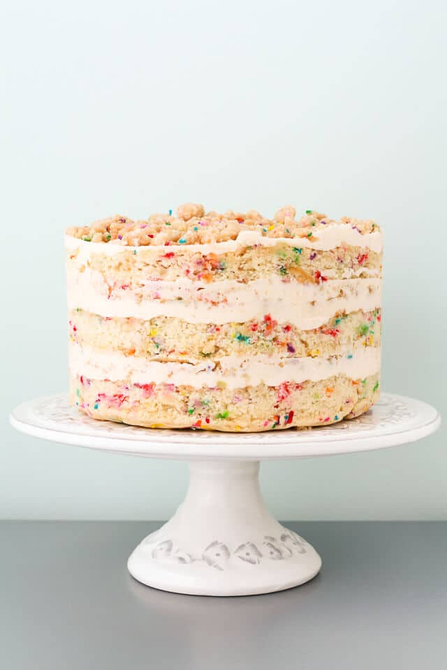 be55643053f Homemade Momofuku Milk Bar birthday cake for my 30th