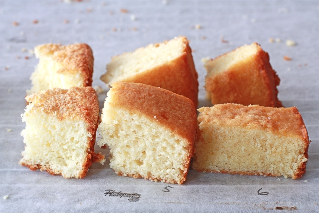 Comparing three more Vanilla cake crumb to find the best vanilla cake recipe ever