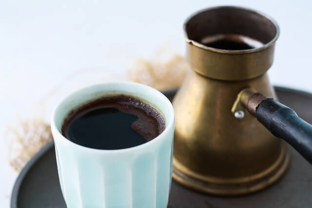 How to make Turkish coffee on the stove