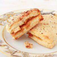 apple stuffed scones