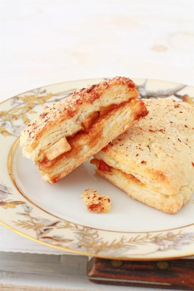 apple stuffed scones | kitchen heals soul