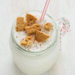 Eggnog milkshake