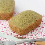 Matcha tea loaf cakes