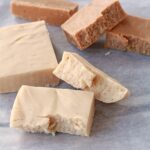 Maple cream and white chocolate fudge