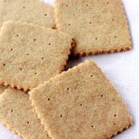 homemade graham crackers