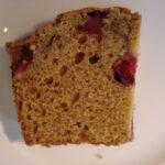 pumpkin cranberry loaf