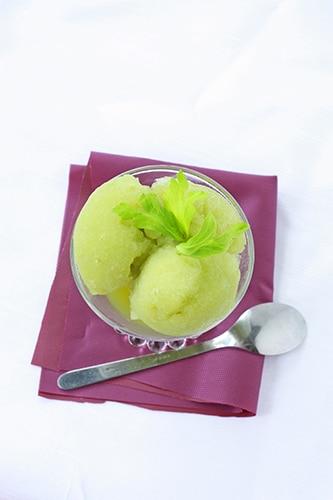 celery lime sorbet