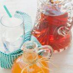 Apricot cardamom iced tea