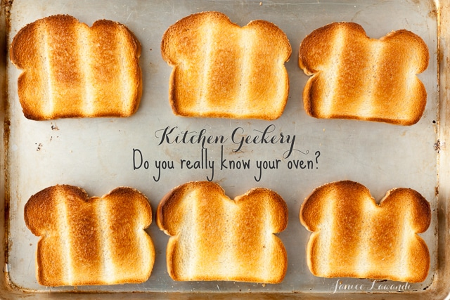 Kitchen Geekery: Do you really know your oven?