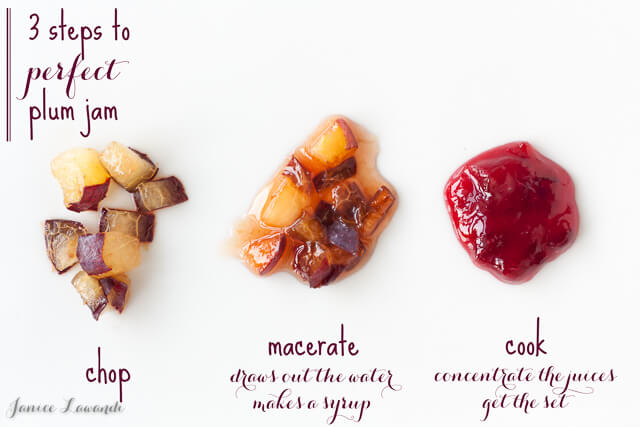 3 steps to perfect plum jam