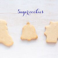 Sugar cookie cutouts
