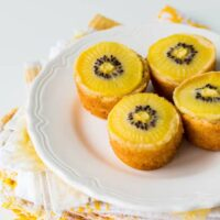 SunGold kiwi coconut financiers | @ktchnhealssoul