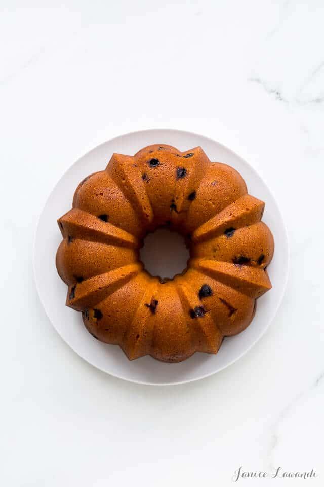 Unglazed orange cranberry bundt cake from the Vanilla Bean Baking Book