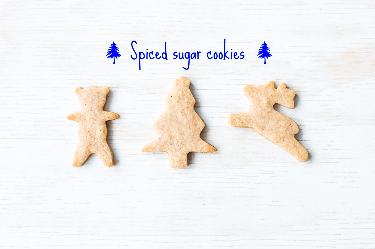 Spiced sugar cookies