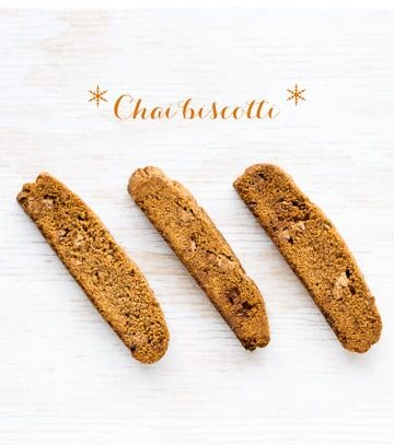 chai-biscotti spiced with anise seed and ginger