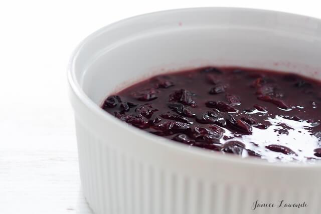 Concord grape mixture