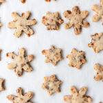 Toffee chocolate coconut snowflake cookies & a #CHIPITSHoliday giveaway