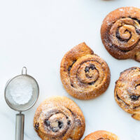 Spiced stollen swirl buns are the perfect make-ahead treat for breakfast Christmas morning