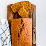 The quest for the perfect pumpkin loaf cake