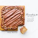 November 2018 Desktop Calendar