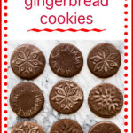 Lemon glazed soft gingerbread cookies